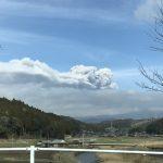 新燃岳が噴火しました。噴火は良い事なんです。