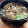 そば屋が勝手に思っている日本一美味しい牡蠣。その牡蠣で作っている相生牡蠣そばです